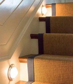 Nautical Stairway Lights