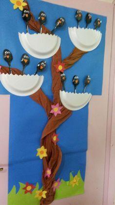 Children's activities: - Famous Last Words Preschool Crafts, Easter Crafts, Diy And Crafts, Crafts For Kids, Arts And Crafts, Spring Activities, Preschool Activities, Preschool Kindergarten, Class Decoration
