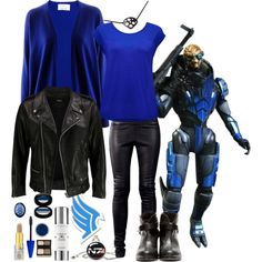 """Garrus"" by andydrinkscoffee on Polyvore"