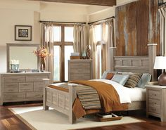 Stonehill Poster Bedroom Set | Standard Furniture | Home Gallery Stores