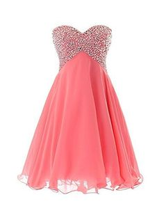 Custom Made Easy Prom Dresses Short Sweetheart Beaded Prom Gown Short Homecoming Dress Prom Dresses Under 50, Dresses Short, Prom Dresses 2018, Cute Dresses, Bridesmaid Dresses, Prom Gowns, Party Dresses, Evening Dresses, Ball Gowns