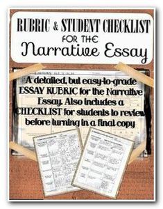 003 Example Of A Personal Essay Narrative Essay Letter And