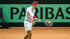 Davis Cup final: Roger Federer gives Switzerland a boost by taking part in practice