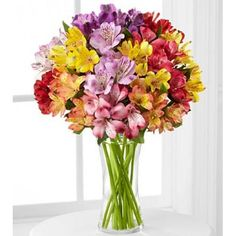 50. Kytica kvetov Alstroeméria