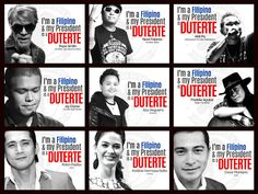 Legion of Duterte's celebrity supporters revealed! Find out who they are here! Presidents, Politics, Baseball Cards, Celebrities, Sports, Blog, Philippines, Image, Hs Sports
