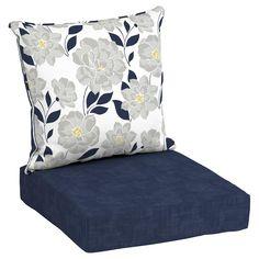 Genial Hampton Bay 24 X 24 CushionGuard Aubergine Deep Seating Outdoor Lounge  Chair Cushion