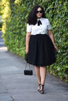 38 Upscale Office Outfit Ideas for Plus Size Women Fashion for chubby women . - Plus Size Work Outfits Curvy Outfits, Mode Outfits, Stylish Outfits, Skirt Outfits, Plus Size Dress Outfits, White Outfits, Stylish Dresses, Plus Size Work, Look Plus Size