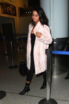 May 11: Selena arriving at LAX airport in Los Angeles, California