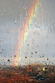 Theres a rainbow always after the rain 😉