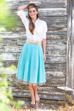 Dorothy Skirt Mint Green