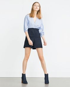 Image 1 of COMBINED SHORT JUMPSUIT from Zara