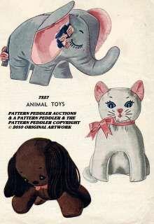 stuffed animal patterns - Google Search