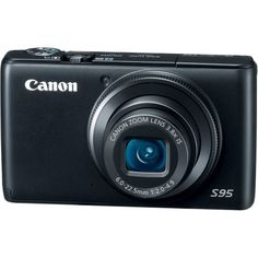 Canon PowerShot S95 10 MP Digital Camera with 3.8x Wide Angle Optical Image Stabilized Zoom and 3.0-Inch LCD $369.99
