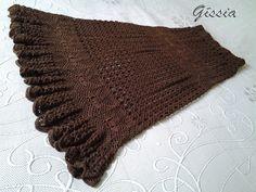 Long crochet skirt