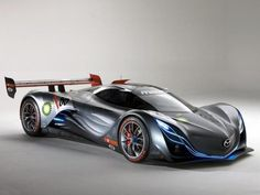 Mazda Furai. This car is too beautiful to be real...and yet, it is.
