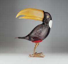 art toucan figure murano - Szukaj w Google