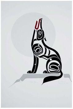 Left Behind by Harris Smith (my grandfather's art) Haida Kunst, Inuit Kunst, Arte Haida, Haida Art, Inuit Art, Native American Symbols, Native American Design, American Indian Art, Arte Tribal