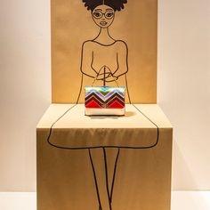 "LA RINASCENTE, Milan, Italy, ""Paper Doll"", (Create Your Bag), for Nueroventidue and The Green Life, pinned by Ton van der Veer"