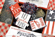 Get ready to celebrate the RED, WHITE, and BLUE with these gorgeous, FREE printables to make a Dating Divas of July care package! Breakup Kit, Deployment Party, Christmas Care Package, Birthday Care Packages, Gifts For Cancer Patients, Cheer Up Gifts, Box Of Sunshine, Gift Sets For Her, Free Printable Gift Tags