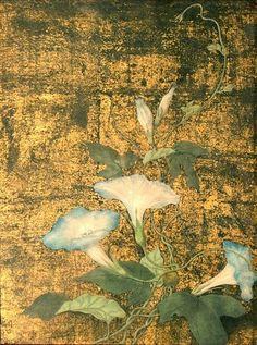 Tsuguharu Foujita - Morning Glories, 1922