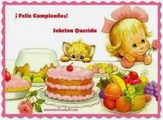 Resultado de imagen para tarjetas de felicitaciones de cumpleaños para mi nieta