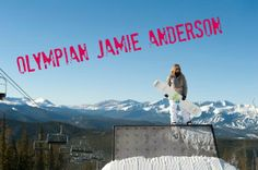 Jamie Anderson of the US Olympic team just won the first EVER gold in women's slopestyle! Don't miss our interview! #Sochi2014 #Sochi #Olympics #snowboarding