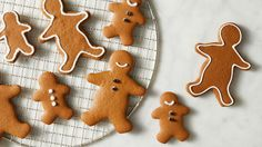 "Use this basic gingerbread recipe to make cutout cookies in various shapes. Our favorites are gingerbread boys and girls in different sizes, decorated with white royal icing and currant ""buttons."""