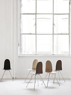 A volta das cadeiras Tongue, de Jacobsen: Howe revisita clássico do designer dinamarquês