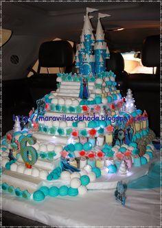 Maravillas de Hada: Castillo de chuches Frozen