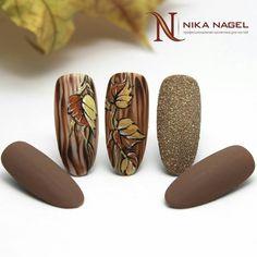 Fall Nail Designs - My Cool Nail Designs Glam Nails, Fancy Nails, Beauty Nails, Cute Nails, Pretty Nails, Fall Nail Art, Autumn Nails, Thanksgiving Nail Art, Luxury Nails