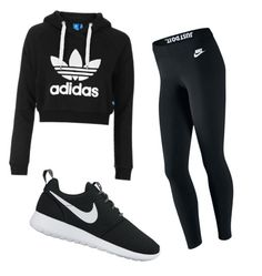 GO SPORT by thenarshamissry on Polyvore featuring polyvore, fashion, style, Topshop, NIKE and clothing
