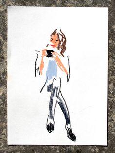 Snap sketch by Damien Florebert Cuypers