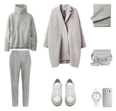 """""""Untitled #569"""" by fashionlandscape ❤ liked on Polyvore featuring Zero + Maria Cornejo, MaxMara, Acne Studios, Proenza Schouler, Samsung, women's clothing, women, female, woman and misses"""