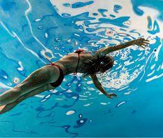 Underwater Painting, Underwater Photos, Underwater Photography, Art Photography, Painting People, Figure Painting, Eric Zener, Surf Art, Art Design