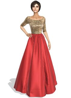 Online shop for made to measure Indian women's indo western dress and designed by Krishna Kumar for EthnoVogue. Ethnic Fashion, Indian Fashion, Women's Fashion, Gala Dresses, Evening Dresses, Dress Sketches, Fashion Sketches, Party Wear, Party Dress