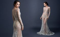 """""""Paolo Sebastian, F/W 2015 this over a simple white or nude dress would look awesome"""