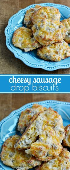 Cheese and Sausage Drop Biscuits Recipe - Perfect for a Quick Breakfast