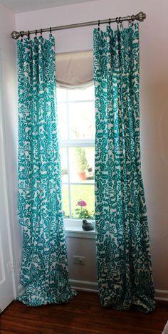Turquoise Valance Waverly Aqua White Lattice Valance For The Kitchen Bathroom Beach House