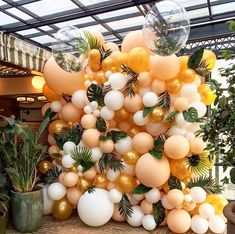 Quinceanera Party Planning – 5 Secrets For Having The Best Mexican Birthday Party Balloon Wall, Balloon Arch, Balloon Garland, Orange Balloons, Pastel Balloons, Flower Balloons, Flower Garlands, Birthday Decorations, Baby Shower Decorations