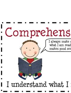 These are headings that can be used when posting Cafe' reading strategies (comprehension, accuracy, fluency, and expand vocabulary) in the classroo...