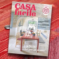 "More than proud to be featured on Casa Facile's cover story. The main article talks about Raul Bova's Country House in Puglia, a typical ""Masseria"", that became the venue of a ""cultural hub"". On the cover, the red table OFFICINA by Mogg / Design by Marcantonio  http://www.mogg.it/Prodotti/Table/OFFICINA/  #mogg #moggdesign #officina #marcantonio #marcantonioraimondimalerba #table #interiordesign #italianfurniture #interior #design #italian #furniture #magazine #casaidea #raulbova #vip"