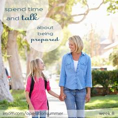 Spend some quality time helping your child prepare for going to back to school with our Prepare Talk. #backtoschool