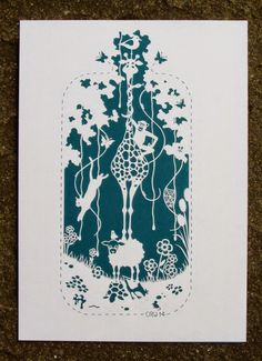 Clare Willcocks: paper cutting