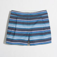 J.Crew Factory - Factory textured-stripe short