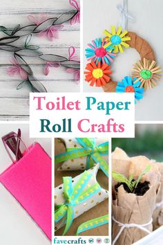 These toilet paper roll crafts are a great way to recycle a great craft material. You can use toilet paper rolls for anything! Toilet Paper Roll Crafts, Paper Plate Crafts, Cardboard Crafts, Cardboard Tubes, Paper Plates, Paper Crafting, Spring Crafts For Kids, Summer Crafts, Fun Crafts