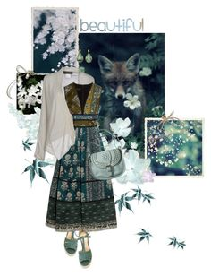 """Beautiful World"" by sagramora ❤ liked on Polyvore featuring Paloma Barceló, ...Lost, Maria Calderara, Burberry, Mossimo Supply Co. and Armenta"