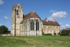 église et prieuré de Sainte-Gauburge, Saint-Cyr-la-Rosière, Perche, Orne, Basse-Normandie