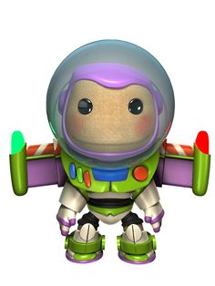 I Love Little Big Planet!! New Toy Story costumes for the sackies!!! =D