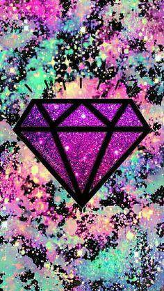 db2c6fe56dbe63e39b977b31cfa8f954  galaxy wallpaper diamond iphone wallpaper