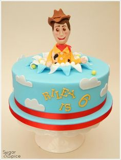 'Woody' birthday cake https://www.facebook.com/SugarandSpiceGourmandise